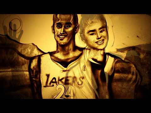 Sand Tribute To Kobe Bryant By Kseniya Simonova