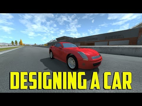 Automation + BeamNG - Designing a Car