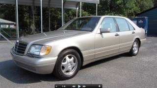 1997 Mercedes-Benz S500 Start Up, Exhaust, and In Depth Tour