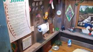 The Poo Pee Head, The Outhouse With Real Style.  Thank You Joan For Making It A Place To Remember.