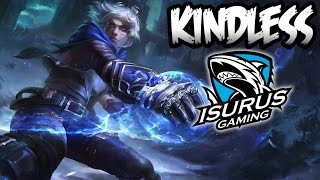 ISG Kindless ADC   Ezreal vs Caitlyn   Ranked Corea   Temporada 7