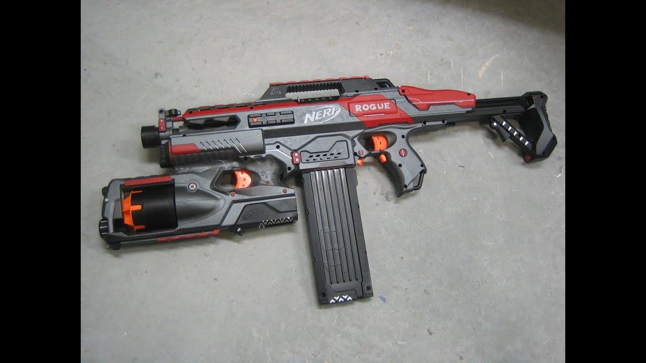 [MOD] Nerf Rapidstrike + Strongarm Integration + Motor ...  [MOD] Nerf Rapi...