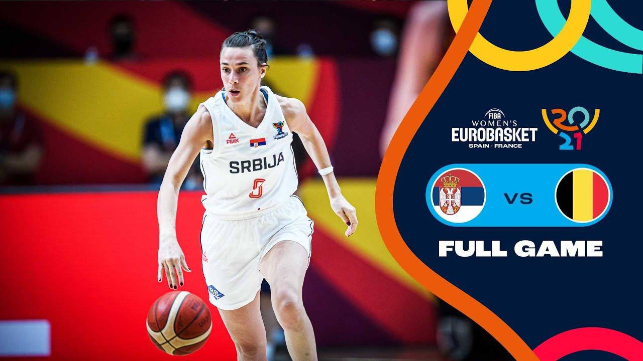 SEMI-FINALS: Serbia v Belgium   Full Game - FIBA Women's EuroBasket 2021 Final Round