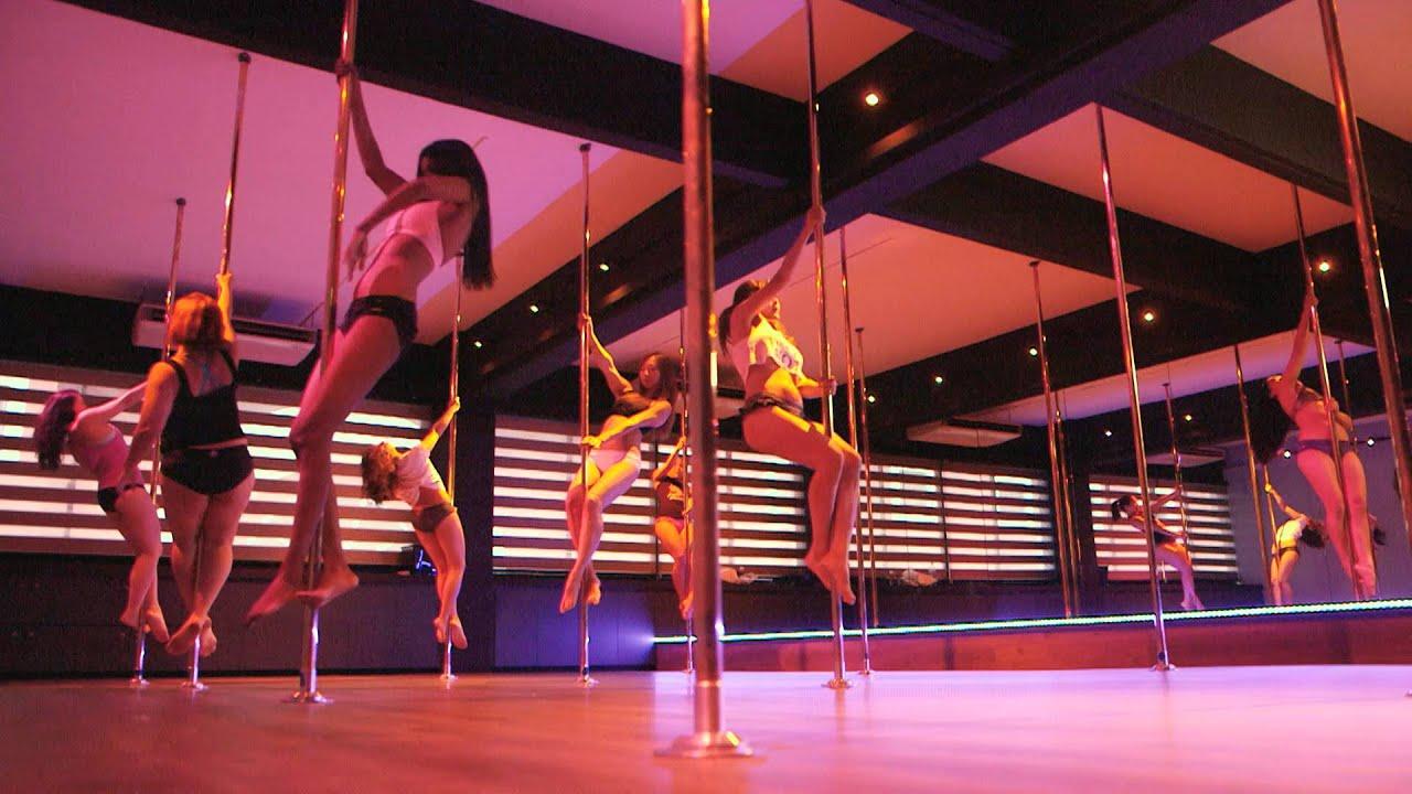 Go go striptease class good for the heart