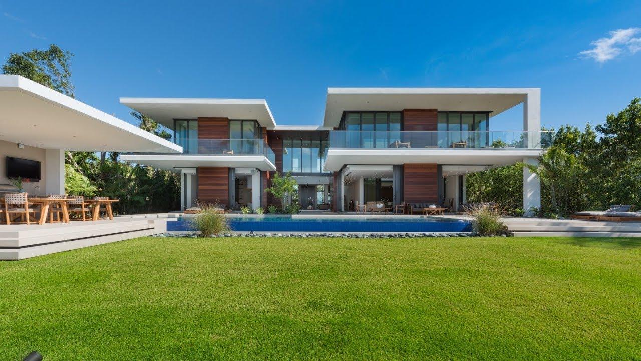 Modern Luxury House In Miami Beach Florida Youtube