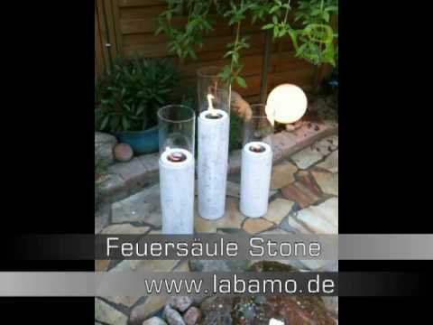 feuers ule stone bio ethanol gartenfeuer youtube. Black Bedroom Furniture Sets. Home Design Ideas