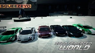 Need for Speed World - Christmas Time, Snow, party, Big Jumps, Christmas song 2012