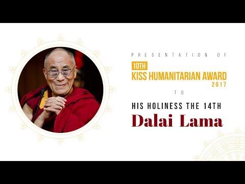 His Holiness Dalai Lama addresses Tibetan people of Odisha at KIIT University