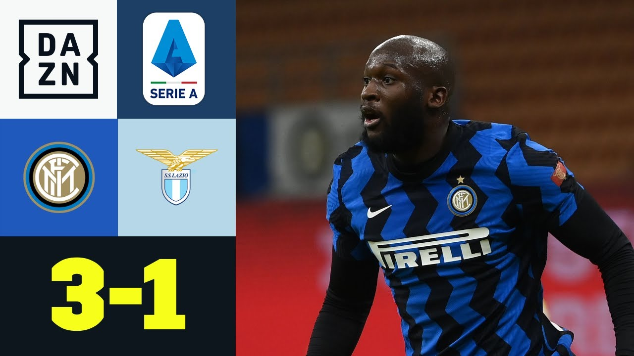 Download Lukaku überrollt harmlose Hauptstädter: Inter – Lazio 3:1   Serie A   DAZN Highlights