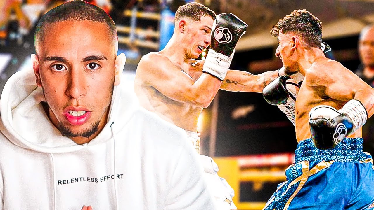 Reacting To Aneson Gib vs Taylor Holder.. How Gib IMPROVED Since Boxing JAKE PAUL!