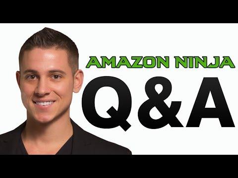 LIVE AMAZON FBA YOUTUBE - AMAZON FBA NINJA STUDENT QUESTION & ANSWERS #1