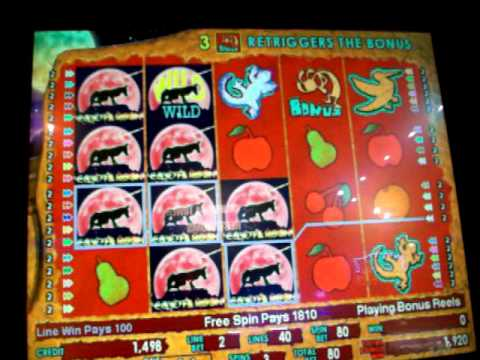 Coyote Moon Slot Machine
