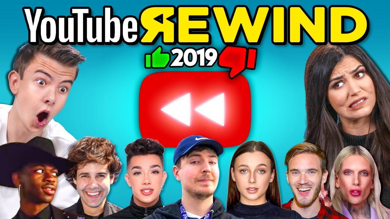 Teens & College Kids React To YouTube Rewind 2019