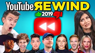 Download Teens & College Kids React To YouTube Rewind 2019 Mp3 and Videos