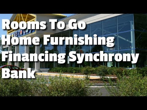 Rooms To Go Home Furnishing Financing Synchrony Bank