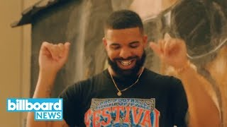 Drake's 'In My Feelings' Video Features Shiggy & J-Hope Cameos | Billboard News