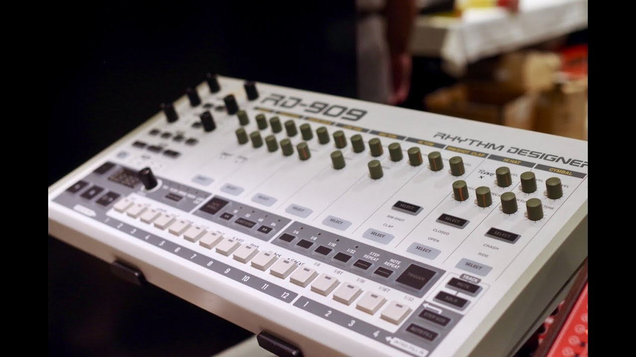Behringer RD-909 (Roland TR-909 Clone) Sneak Preview