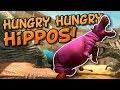 HIPPO vs DINOSAUR RAMPAGE! Beast Battle Simulator - New TABS or UEBS style game
