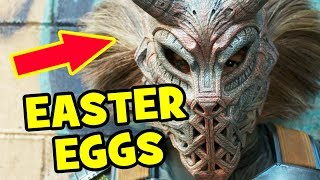 Black Panther Trailer EASTER EGGS & Things You Missed