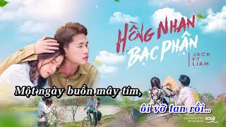 BẠC PHẬN PIANO [KARAOKE] JACK ft LIAM | Official Video