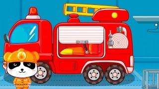 Обзор приложения Маленький пожарный. Мультфильм про машинки