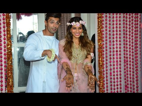 Star Studded Mehendi Ceremony Of Karan Singh Grover And Bipasha Basu