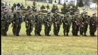 Соколац: Смотра српске полиције (30.03.1992.)