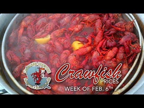 Weekly Crawfish Prices