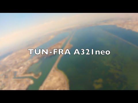 tunis-to-frankfurt---takeoff-and-landing-lufthansa-a321neo