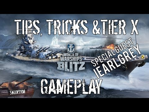 Wows Blitz Talks, Tips and Tier X Gameplay with iEarlGrey