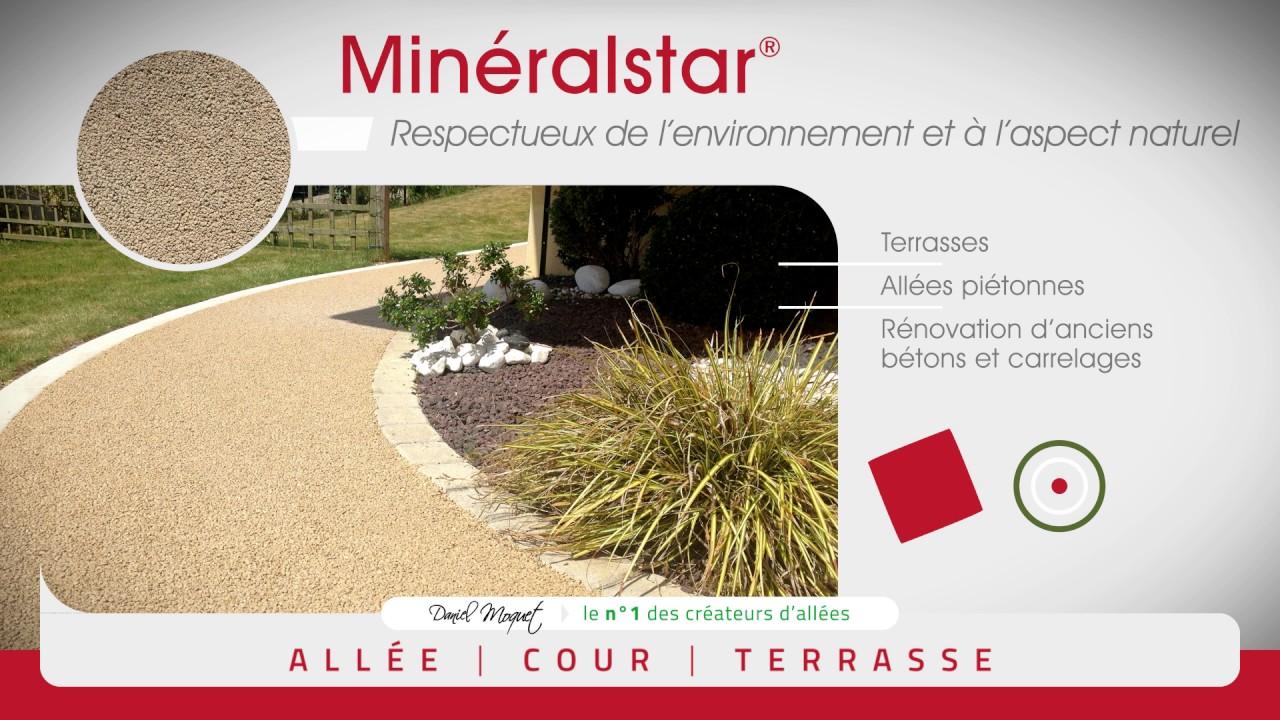 Mineralstar Un Revetement Drainant Respectueux De L Environnement Et A L Aspect Naturel