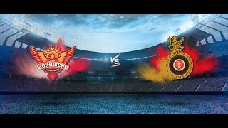 Don Bradman Cricket 14 IPL 2017 Season Gameplay Match 1 - SRH vs RCB - My Predictions