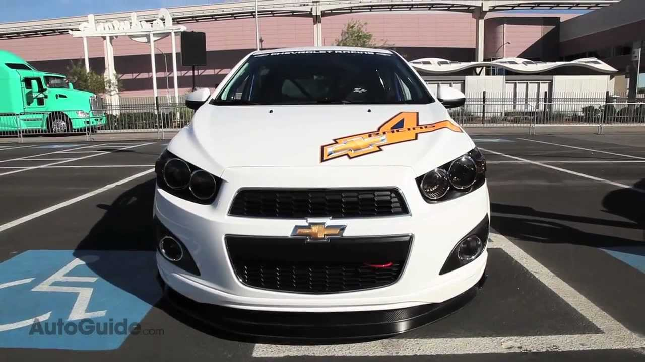 Chevrolet Sonic Super 4 Concept Sema Show 2011 Youtube