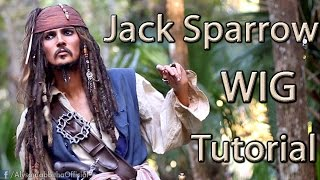 Jack Sparrow Wig - Cosplay Tutorial