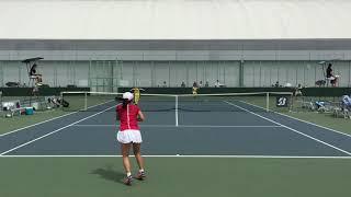 【ホームページ運用開始】 (https://www.agstyle-tennis.com/) 令和元年度全日本学生テニス選手権大会 女子シングルス3回戦 91下地奈緒早大) 16 16 96小池颯...
