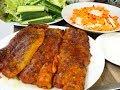 Cá nướng - Cách ướp Cá nướng - Cá Lăng - Cá Welsfillet - Nướng muối Ớt không cay by Vanh Khuyen