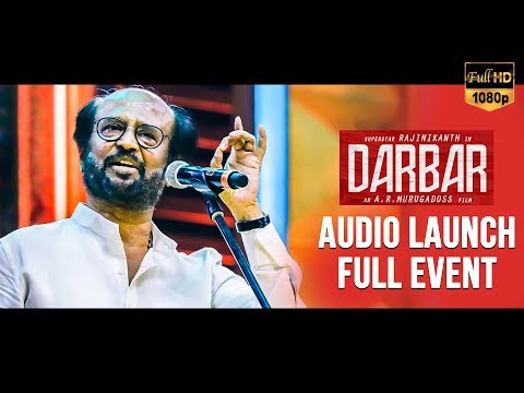 🔴 LIVE: Darbar Audio Launch | Superstar Rajinikanth | Anirudh | AR Murugadoss | Darbar Songs