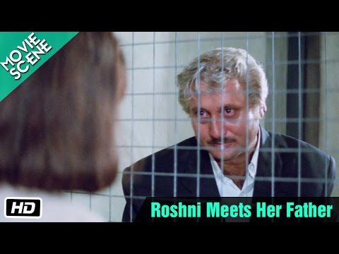 Roshni Meets Her Father - Movie Scene - Sridevi, Anupam Kher, Sanjay Dutt