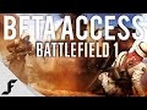 BATTLEFIELD 1 GAMEPLAY  | Sinai Desert |  Multiplayer BETA