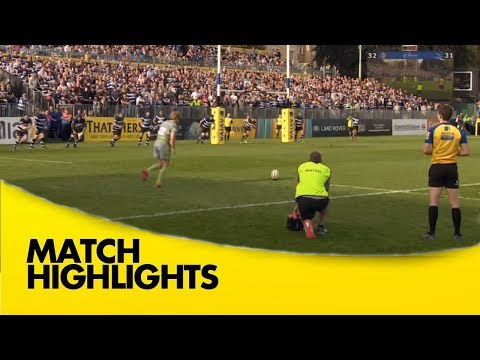 Bath Rugby v Newcastle Falcons - Aviva Premiership Rugby 2017-18