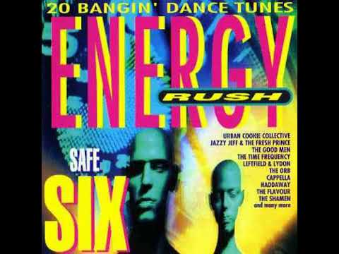 Various Artists - Energy Rush: Safe Six front cover