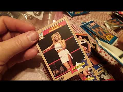 Opening Sealed Dollar Store WWE Wrestling Cards With AJ To See If We Got An Autographed Card