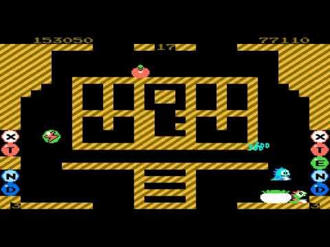 Bubble Bobble Levels 16 thru 20 (NES) Co-Op
