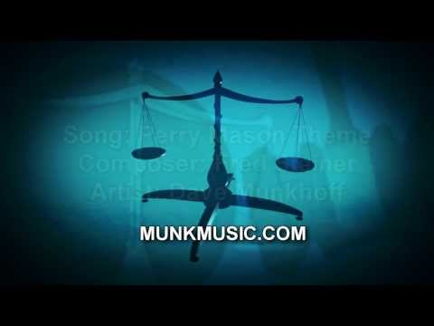 Perry Mason Theme by Classic Rock Guitarist Dave Munkhoff
