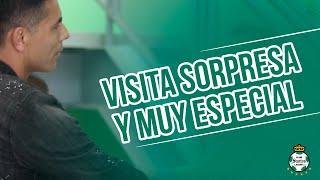 embeded bvideo Oswaldo Sánchez: Visita sorpresa y muy especial