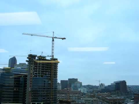 CF-18 Fighter Jets Flying Over Calgary (April 3rd, 2009)