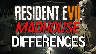Resident Evil 7: Madhouse Mode Differences