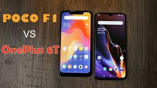 OnePlus 6T Vs Poco F1 comparison - Which one is the Flagship killer and the one you should buy?