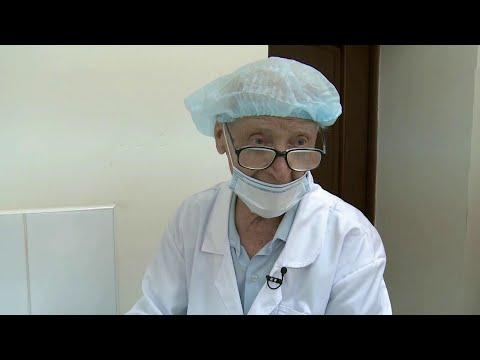 Репортаж об уникальном враче из Краснодарского края, который продолжает работу в 97 лет.