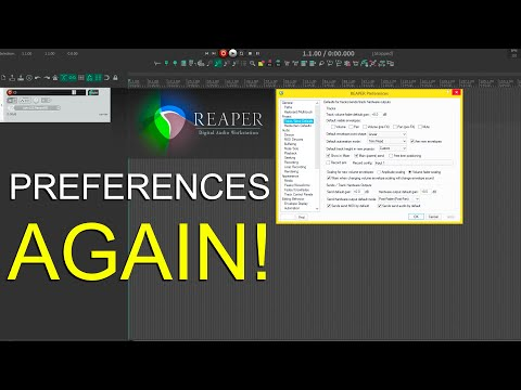 How To Disable Automatic Input Monitoring In Reaper 6 And More!